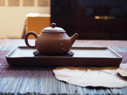 19th Century Yixing Teapot | Metal Staple repair