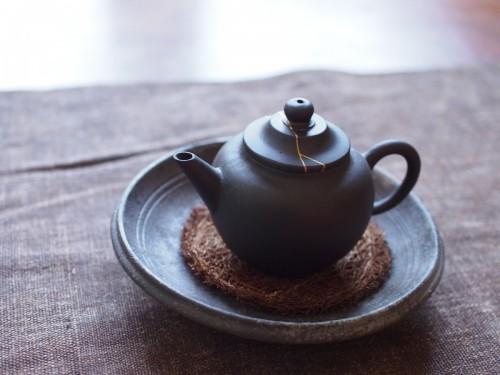 1980s Yixing Teapot | Kintsugi repair