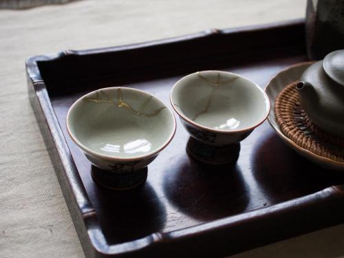 Japanese Sutra Taecup | Kintsugi