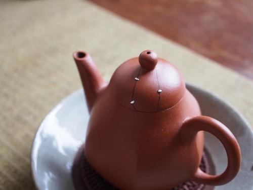 Zhuni Yixing Teapot | Metal Staple Repair