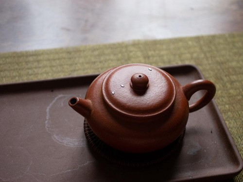Zhuni Teapot | Metal staple repair