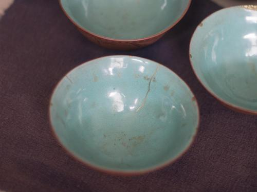 Qing Enameled Cup | Kintsugi