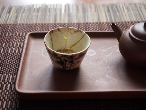 Ming Dynasty Teacup | Kintsugi repair