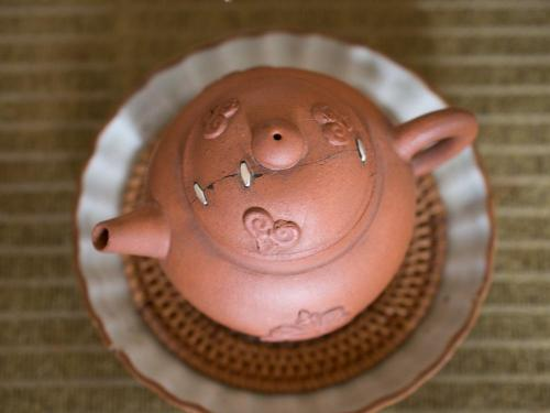 Cloud Kangxi Teapot | Staple Repair